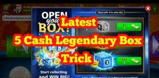 5 cash legendary box trick