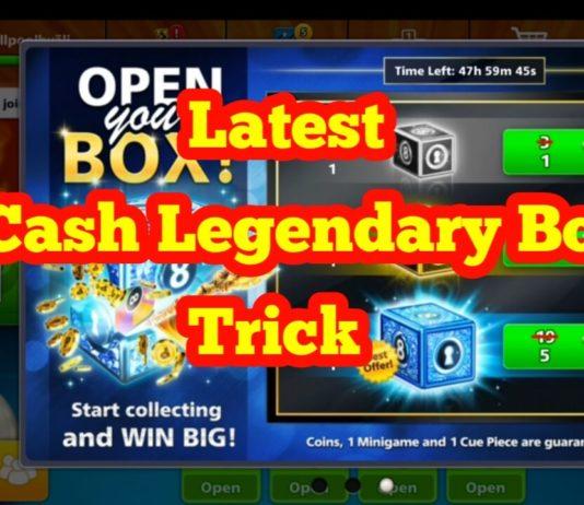 5 cash legendary box trick