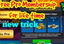 8 ball pool free pro membership
