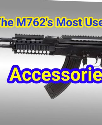 m762 most useful accessories for PUBG MOBILE Game
