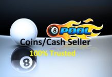 8 ball pool coins seller in pakistan
